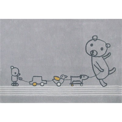ART FOR KIDS Tapis - gris