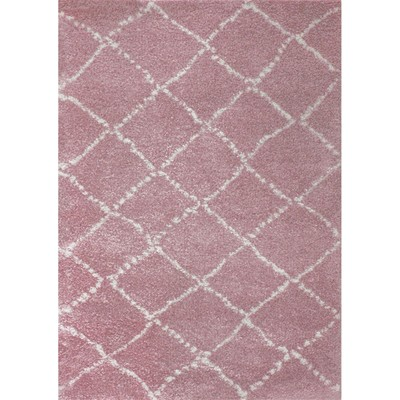 Art For kids tapis - rose