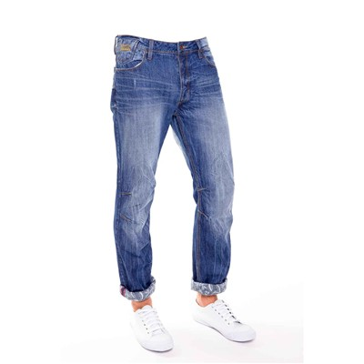 Wildy - Jean droit - denim bleu