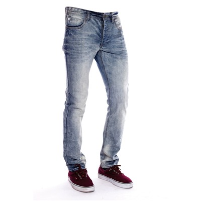 MZGZ Way - Jean slim - denim bleu