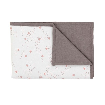 Couverture doudou - rose