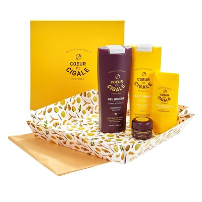COEUR DE CIGALE Coffret Calisson - jaune