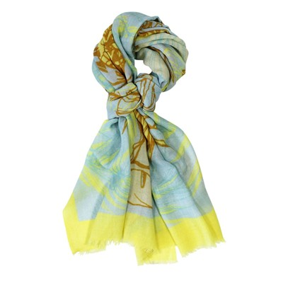 Tropical Yellow - Etole en laine - jaune