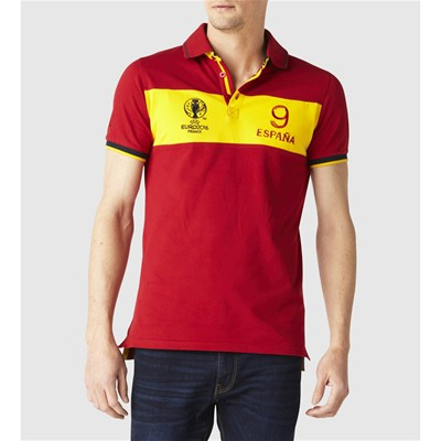 CELIO UEFA - Polo - rouge
