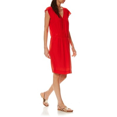 CAROLL Ellie - Robe - rouge