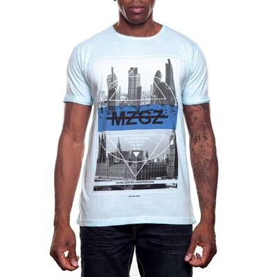The Wave - T-shirt - bleu ciel