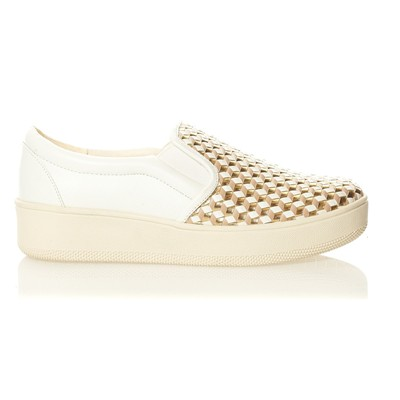 BUFFALO Slip-on - blanc