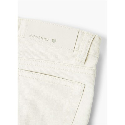 MANGO KIDS Short - ecru