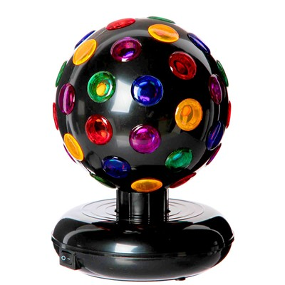 WDK PARTNER Boule lampe disco - multicolore