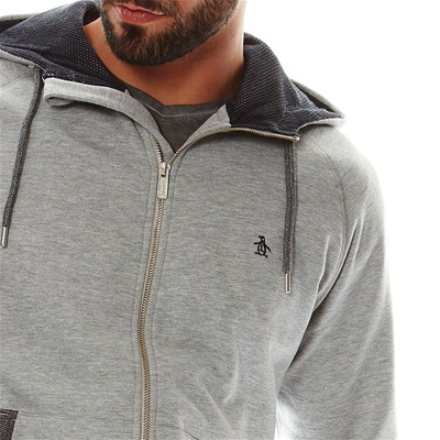 ORIGINAL PENGUIN Sweat à capuche - bruyère