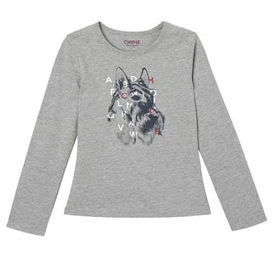 CHIPIE T-shirt - gris chine