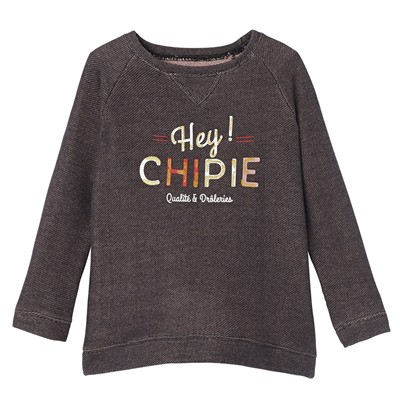 CHIPIE Sweat-shirt - gris foncé