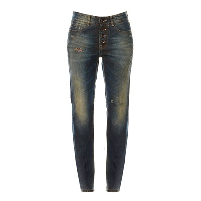 Jean boyfriend - denim bleu