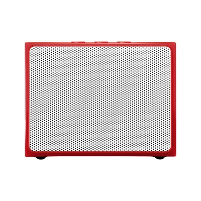 The Kase musik customizer - enceinte bluetooth - rouge