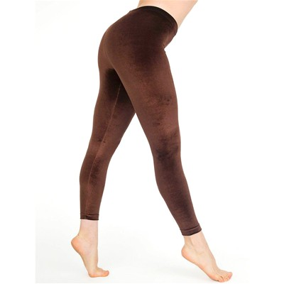 AMERICAN APPAREL Legging - marron