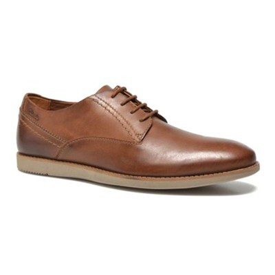 Franson Plain - Derbies en cuir - camel
