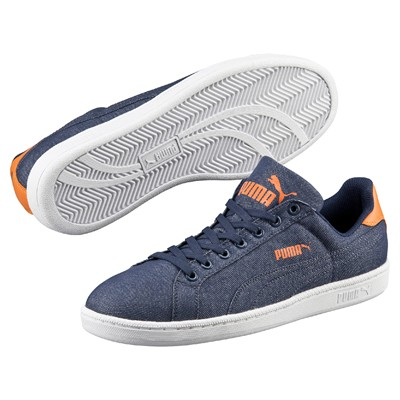 PUMA Smash - Baskets - denim bleu