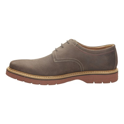 CLARKS Newkirk - Derbies - gris clair