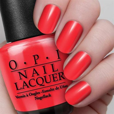 OPI Color So Hot It Berns - Vernis à ongles - rouge