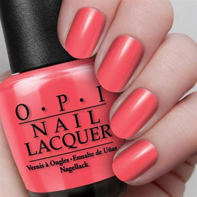 OPI Red Lights Ahead ... Where ? - Vernis à ongles - rouge