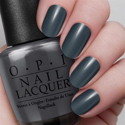 OPI Dark Side of the Mood - Vernis à ongles - gris foncé