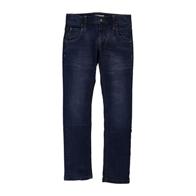 NAME IT Jean droit - denim bleu
