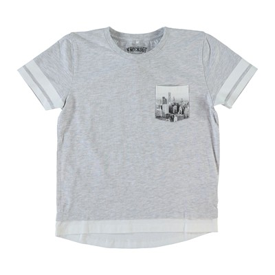 NAME IT T-shirt - gris clair