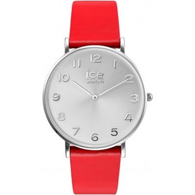ICE WATCH Ice City - Montre bracelet en cuir - rouge
