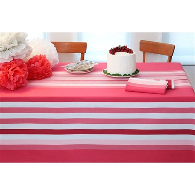 JEAN VIER Ainhoa - Nappe de table - rose