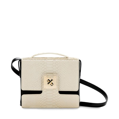 Courty - Sac en cuir - beige