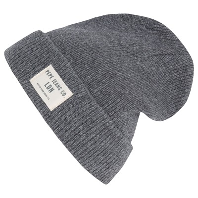PEPE JEANS LONDON Asbury - Bonnet - gris chine