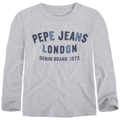 PEPE JEANS LONDON Jamis - T-shirt - gris chine