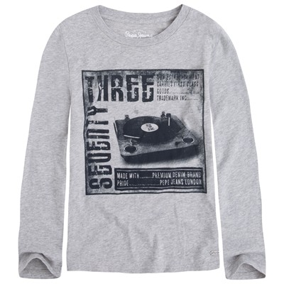 PEPE JEANS LONDON Jerold - T-shirt - gris chine