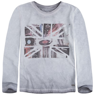 PEPE JEANS LONDON Joss - T-shirt - gris