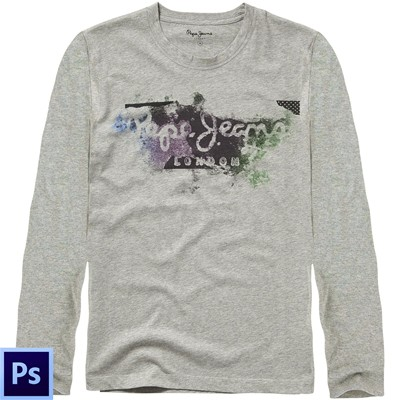 PEPE JEANS LONDON Goodge - T-shirt - gris
