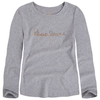 PEPE JEANS LONDON Charlene - T-shirt - gris chine