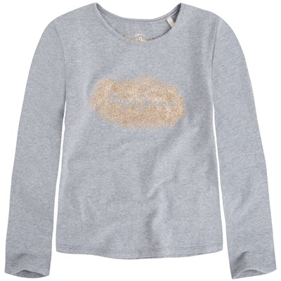 PEPE JEANS LONDON Chiara - T-shirt - gris chine