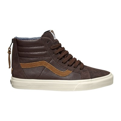 VANS Baskets en cuir - marron