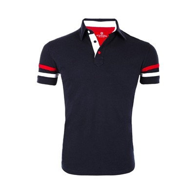The Racer - Polo - bleu marine