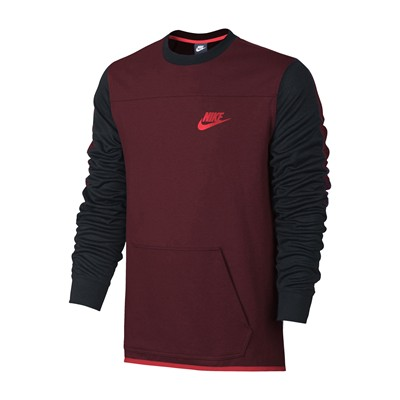 NIKE Sweat-shirt - rouge