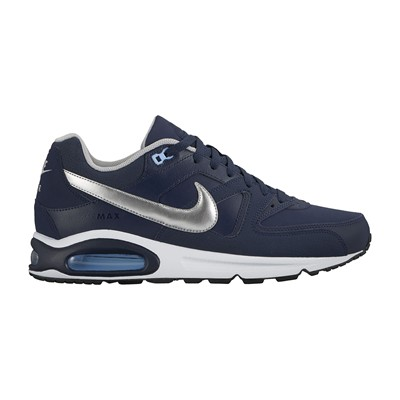 NIKE Air Max Command - Baskets en cuir - argent