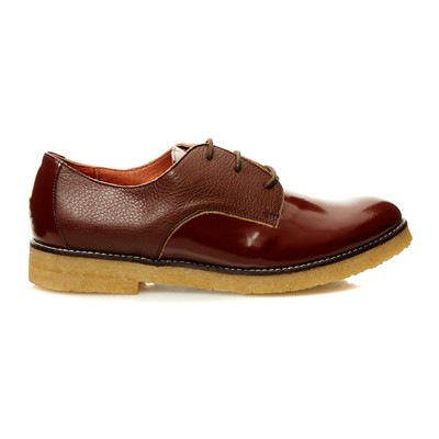 Derbies en cuir - brun