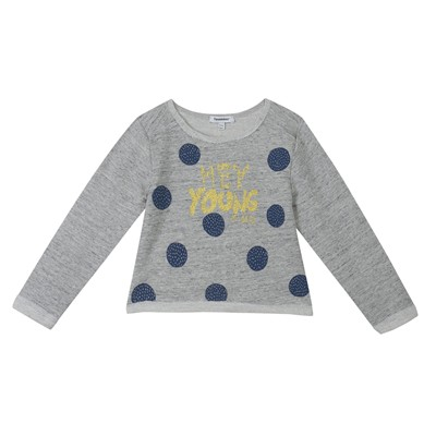 3 POMMES Sweat-shirt - gris chine