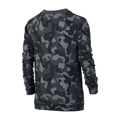 NIKE T-shirt manches longues - gris