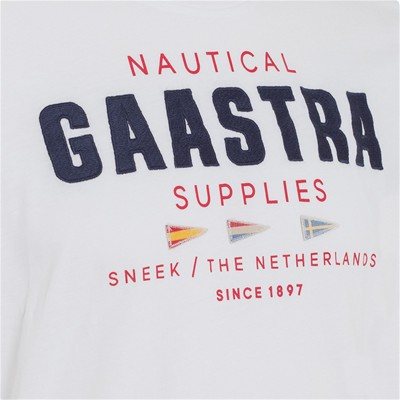 GAASTRA Rough Sea Crew - T-shirt - blanc