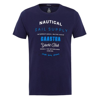 GAASTRA Rough Sea Crew - T-shirt - bleu marine