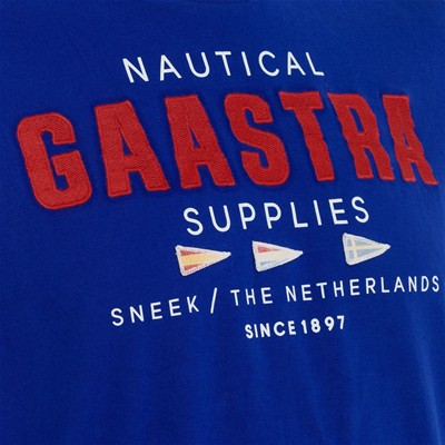 GAASTRA Rough Sea Crew - T-shirt - bleu brut