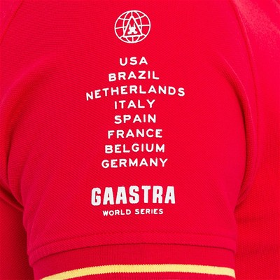 GAASTRA Polo - rouge