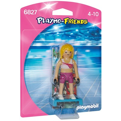 PLAYMOBIL Coach de fitness - multicolore