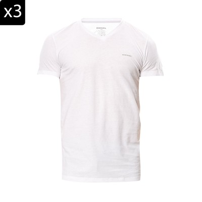 Jake V - Lot de 3 T-shirts - blanc